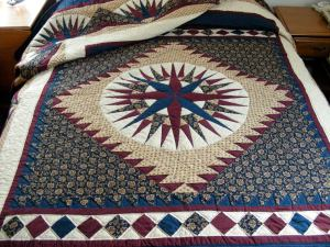 Mariner's Compass Quilt