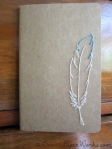 Feather notebook