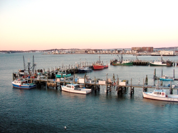 Newport fishing fleet and lobster boats