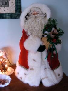 Kent's Santa trimmed